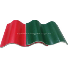 Feuille de toiture rouge ignifuge de haute résistance Mgo