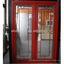 Wood aluminum side hung door