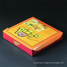Embalagem impressa personalizada para caixa de pizza para venda