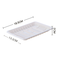 Biodegradable Disposable corn starch fruit packaging trays
