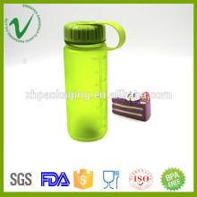 Wide mouth PCTG hotfill vazio redondo 400 ml garrafa de água com tampa de parafuso