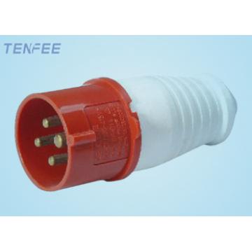 3P+E industrial plug IP44