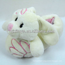 soft plush long ears rabbit indoor shoes