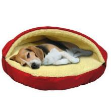 Pet Line Parade cama caverna para cães e gatos, 25 polegadas