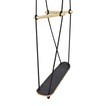 Outdoor Toys Games Wooden Surf Skateboard Swing