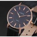 Reloj minimalista minimalista de acero inoxidable de moda