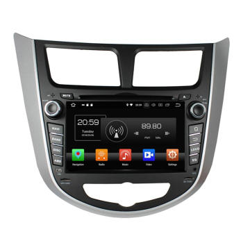 Car player multimediale per Verna Accent Solaris 2011