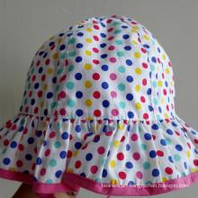 Promotional Fishing Bucket Sun Girl Hat (LB15104)