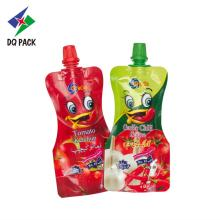 Mini Ketchup printing doypack with spout