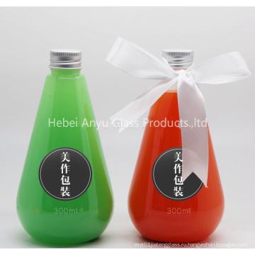 250мл 500мл 1л Стеклянная бутылка для напитков / фруктового сока / молока / воды