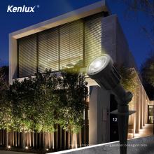 3W Outdoor LED-Leuchten Garten wasserdichter Kunststoff COB
