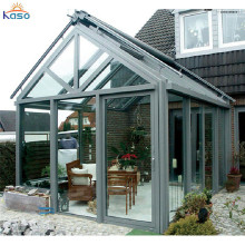 Tetto piano 4 stagione Veranda Materiale Glass House Sunroom