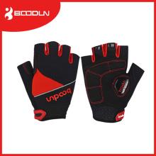High Quality Unisex Short Cut Anti-Shocking Mesh Fabric Bicycle Racing Gloves