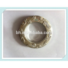 Plastic Curtain Ring,Curtain Rod Ring Clips,Eyelet Curtain Rings