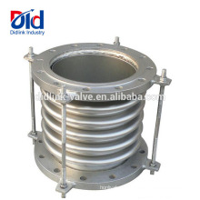 Balgkompensator-Kupplungsschlauchrohr-Auspuff-Edelstahl-Kompensator mit Spurstange und Flansch