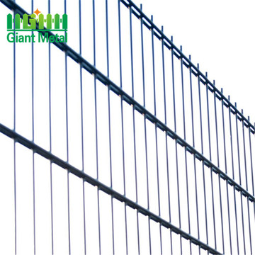 galvanized double wire metal fence