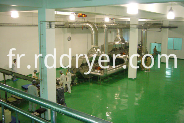 ZLG 8.5x0.9 vibrating fluidized bed dryer