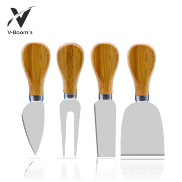 Venta al por mayor Custom Kitchen 4PC Cheese Knife Set