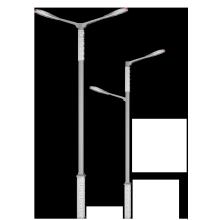 Cheap Price Stainless Direct 4m 5m 6m 7m 8m 9m 10m Steel Street Light Pole