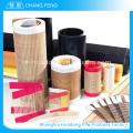 Respectueux de l'environnement matériel récupéré ptfe en fibre de verre enduit tissu mesh bande transporteuse