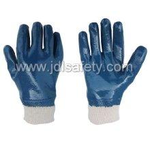 Cepillo de Terry de punto guantes con nitrilo completo recubrimiento nitrilo (NB1511) de trabajo