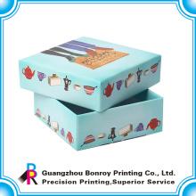 nueva caja de papel hecha a medida de alta calidad del nuevo diseño para los chocolates