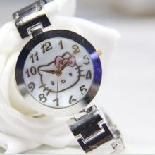 Type de quartz de luxe imperméable à l'eau et montre-bracelet matérielle d'alliage pour la femme