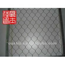 Stainless steel buckle mesh ferruled mesh
