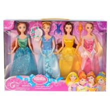 2015 новый продукт 11-дюймовый пластиковый красивое платье куклы