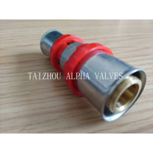 Messing Th Press Fitting - Straight Female Connector (a. 7030)