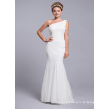 One Shoulder Real Sample Bridesmaid Dress