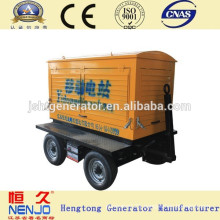 China Hot Sales 25KVA Mobile Electric Generator Set