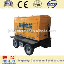 Китай горячей продажи генератора 25kva мобильный Электрический набор