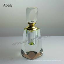 2015 Cristal Perfume Garrafas Garrafa de óleo com tampa de vidro