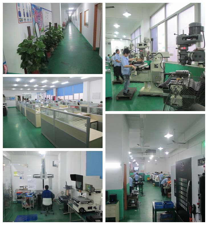 Aluminum CNC Machine SGI Factory