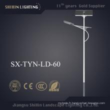 De Bonne Qualité Réverbère solaire extérieur de 36W 45W 60W LED