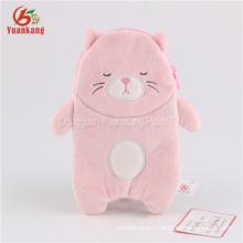 Mignon nouveau design chat en peluche PHONE BAG jouets en peluche
