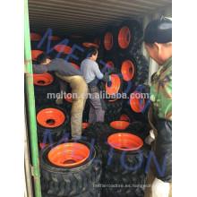 fábrica de neumático de China 14-17.5 15-19.5 neumático de bobcat con borde