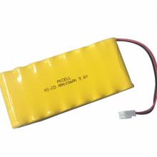 PKCELL 4.8V 9.6V 12v nicd bateria recarregável bateria