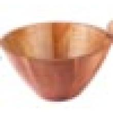 New Japanese Hand-Made Wooden Bowl Anti-Shock Tortoiseshell Wood Salad Bowl Rice Soup Bowl
