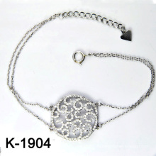 Micro pavimentan los brazaletes de la joyería de la plata esterlina de la CZ 925 (K-1904. JPG)