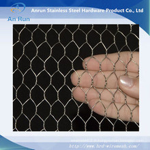 Maillage métallique hexagonal de la norme d'exportation