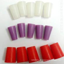 Kundenspezifischer Hitzebeständiger Kegel-Silikon-Gummistopfen