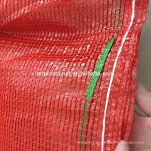 TUOSITE bolsa de malla de plástico microperforado para vegetales