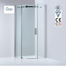 8mm / 10mm espesor de vidrio redonda ducha / cabina de ducha deslizante (Kw05k-C)