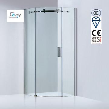 Nuevo cuarto de ducha de cristal del recinto de la ducha del sector de la llegada / cuarto de baño (A-KW05K-C)
