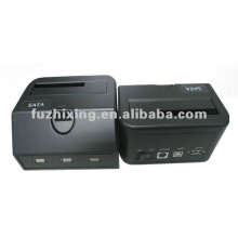 CE approvel USB2.0+Esata to 2.5/3.5 inch SATA HDD docking with 3HUB