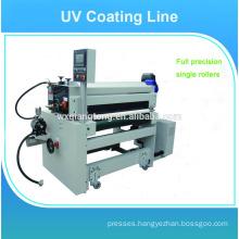 UV coating spray machine / Flooring panels uv coating line / High gloss uv coating machine
