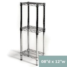 Banheiro Banheiro em aço inoxidável armazenamento Rack (CJ303060B3C)