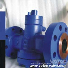Cast Carbon Steel A216 Wcb Lubricated Tapered Plug Valve
